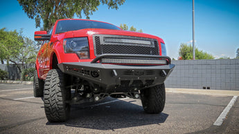 ADD HoneyBadger Front Bumper - 2009-2014 F150 EcoBoost