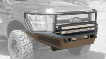 ADD HoneyBadger Rancher Front Bumper w/ Storage Boxes - 2011-2016 Ford F-250/350
