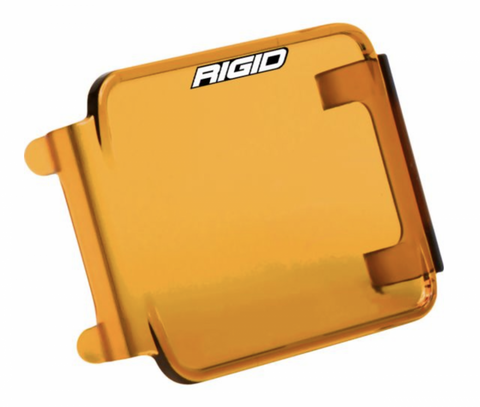 Rigid Industries Protective Polycarbonate Cover - Dually/D2 (Amber)