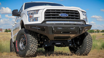 ADD HoneyBadger Front Winch Bumper - 2015+ F150