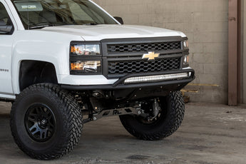 ADD Lite Front Bumper w/ Top Hoop - 2014-2015 Chevy Silverado 1500
