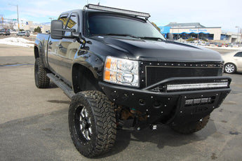 ADD Stealth Front Bumper - 2007.5-2010 Chevy 2500/3500