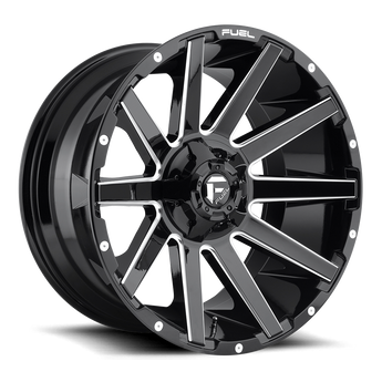 "Fuel Off-Road - Contra D615 - 20"" Wheels"