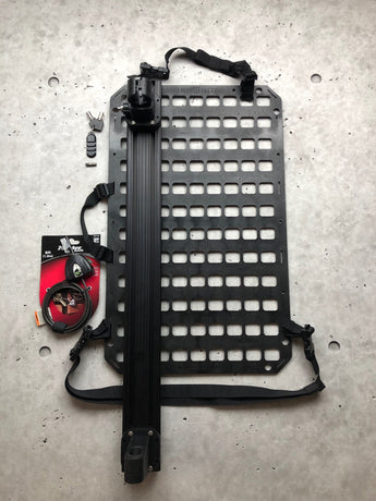 Grey Man Tactical - Vehicle Locking Rifle Rack - Raptor Rail Buffer Tube Mount™ + 15.25 x 25 RMP™