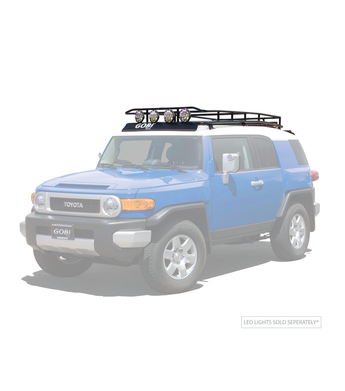 GOBI - Ranger Rack - Multi-Light Setup - 2007-2014 FJ Cruiser