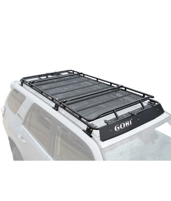 Gobi Stealth Stealth Roof Rack (Tabs for (4) Individual Lights) - 2010+ 4Runner