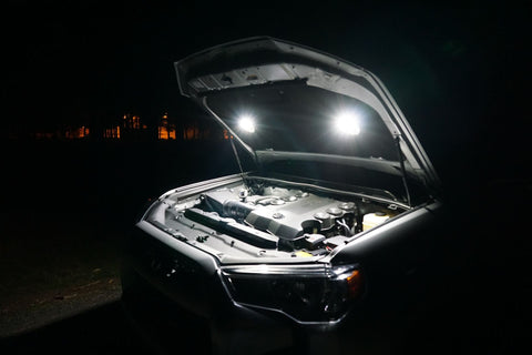 KC Hilites Cyclone LED (2) Light Universal Under Hood Lighting Kit