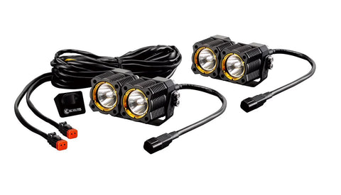 KC Hilites FLEX™ LED Dual Pair Pack System