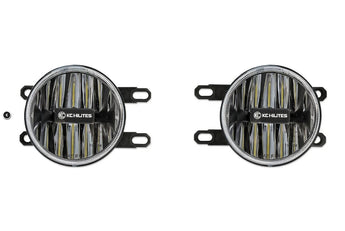 KC Hilites Gravity® LED G4 LED Toyota Fog Light Pair Pack System