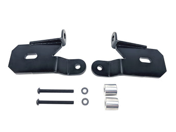 KC Hilites A-Pillar Light Mount Brackets - Jeep JL/Gladiator