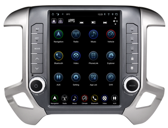 "LinksWell - GEN III 12.1"" T-Style Radio/Tablet (TS-GMPU12-1RR-1) - 2014-2019 Chevy/GMC 1500/2500/3500"