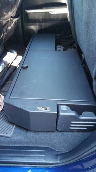 Lock'er Down - SUVault® - Long Gun Safe - 2007+ Tundra (Double Cab)