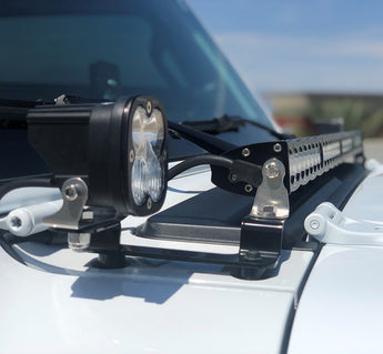 Baja Designs Cowel Mounts and Lights - Jeep JL