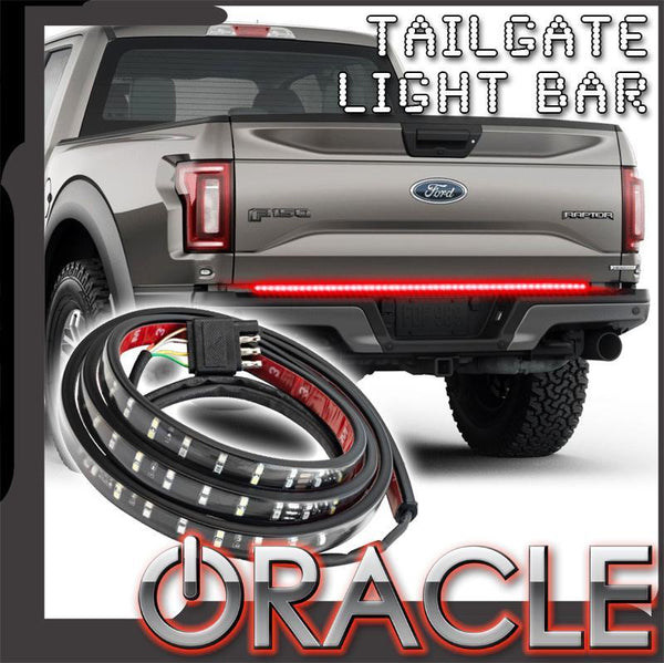 "Oracle Lighting - 60"" Double Row LED Tailgate Light Bar"