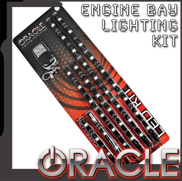 Oracle Lighting - Engine Bay LED Lighting Kit w/ wireless Remote
