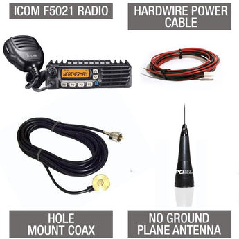 PCI Race Radios - Mobile Radio Chase Package - Icom