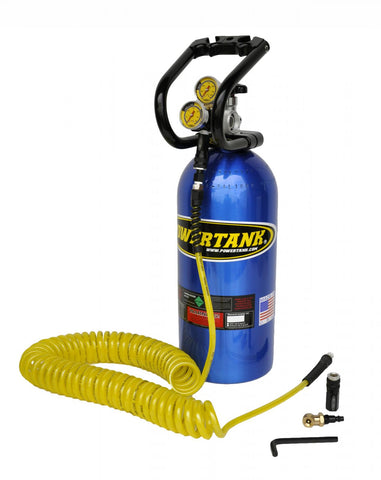 Power Tank - Portable Air Compressor - 10 LB 0-400 PSI Tank Basic System Power Tank
