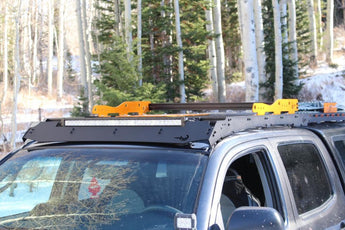 Prinsu Roof Rack Cargo Basket Kit