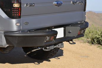 ADD Stealth Fighter Rear Bumper - 2009-2014 F-150 & SVT Raptor
