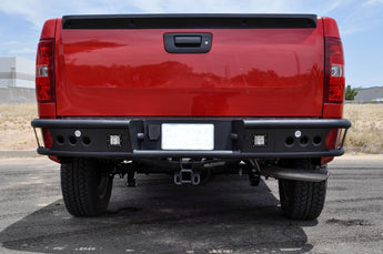 "ADD Dimple ""R"" rear bumper - 2007.5-2013 Chevy Silverado 1500"