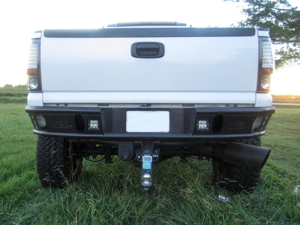 "ADD Dimple ""R"" Rear Bumper - 1999-2007 Chevy 2500/3500"