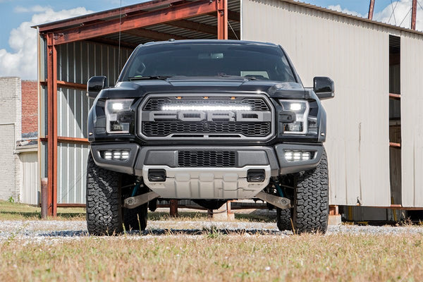 "Rough Country - 30"" LED Hidden Grill Kit - 2017-2020 Raptor"