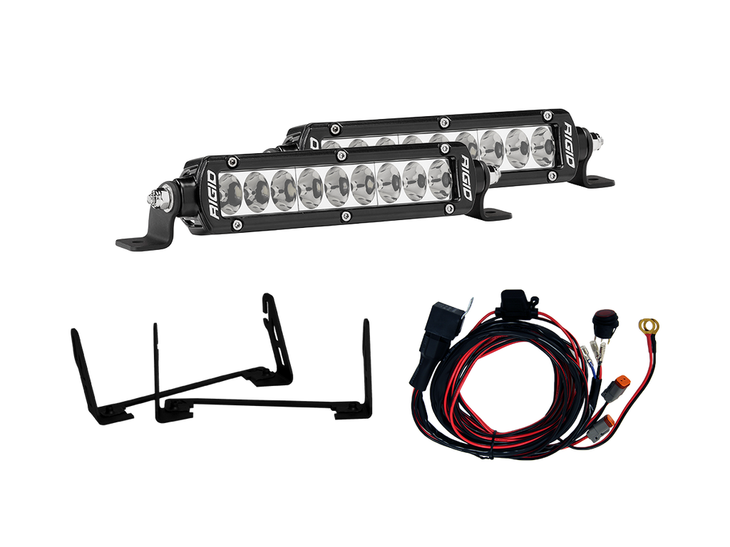 Rigid Industries Grille Light Kit 2017 2019 Raptor