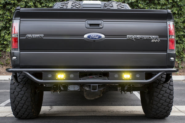 RPG Offroad - Raceline Rear Bumper w/ Backup Sensor Mounts - 2010-2014 Raptor