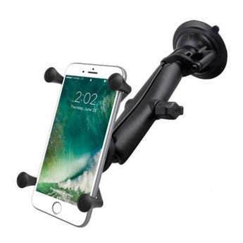Ram Mounts - RAM® X-Grip® Large Phone Mount w/ RAM® Twist-Lock™ Suction Cup Base