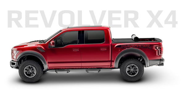 2015-2019 F150 & 2017-2019 Raptor BAK Revolver X4 Bed Cover
