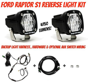 Baja Designs S1 Reverse Light Kit - 2017-2020 Raptor