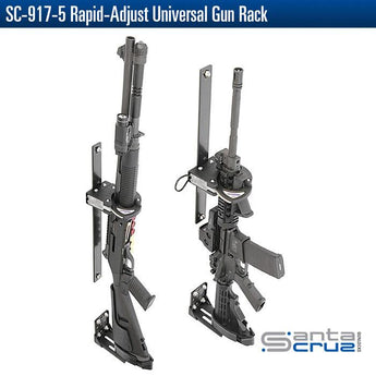 Santa Cruz Gunlocks - SC-917-5 Rapid-Adjust Universal Gun Rack
