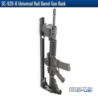 Santa Cruz Gunlocks - SC-920-B Universal Rail Barrel Gun Rack