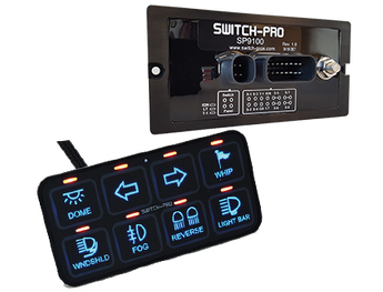 Switch-Pros - SP-9100 - 8 Switch Panel Power System