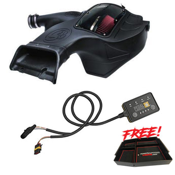 S&B Intake, Pedal Commander, and Free Center Console Package with FREE SHIPPING!  2017-2019 Raptor Save $80+