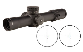 Trijicon - AccuPower® 1-8x28 Riflescope - MOA / MIL Segmented-Circle Crosshair