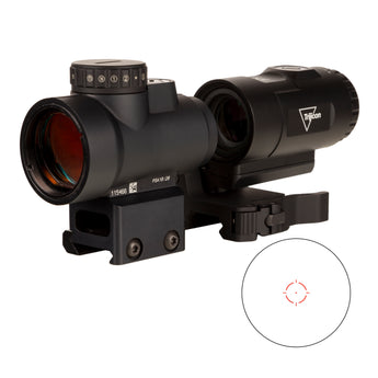 Trijicon - MRO® HD 1x25 Red Dot Sight w/ 3x Magnifier