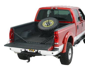 Warrior - 5 & 6 Lug Baja Style Spare Tire Mount (Removable)