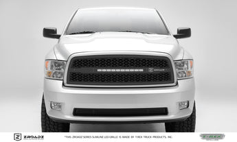 T-REX ZROADZ Series, Insert Grilles - Powdercoat - Requires Drilling or Cutting - 2009-2012 Ram 1500