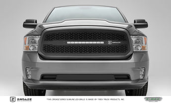 T-REX ZROADZ Series, Insert Grilles - Powdercoat - Requires Drilling or Cutting - 2013-2018 Ram 1500