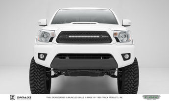 T-REX ZROADZ Series, Insert Grilles - Powdercoat - Requires Drilling or Cutting - 2012-2015 Tacoma