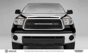 T-REX ZROADZ Series, Insert Grilles - Powdercoat - Requires Drilling or Cutting - 2010-2013 Tundra