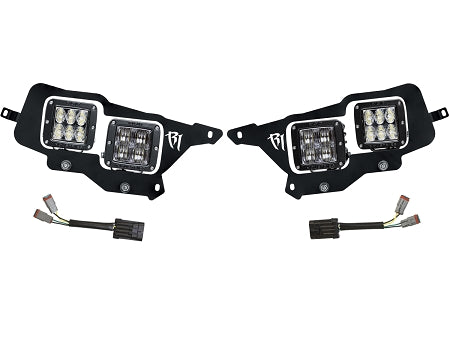Rigid Industries Headlight Replacement Kit - 2014-2016 Polaris RZR XP1000