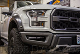 "Diode Dynamics 2017+ Ford Raptor Fog Brackets 12"" Lights Installed"