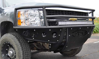 ADD Rancher Front Bumper and Winch Mount - 2007.5-2010 Chevy 2500/3500