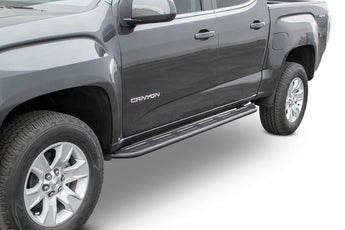 ADD Lite Side Steps in Hammer Black - 2015-2019 Chevy Colorado / GMC Canyon