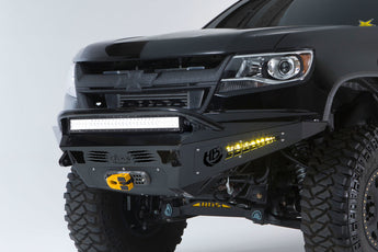ADD HoneyBadger Front Bumper w/ Winch Mount - 2015-2019 Chevy Colorado