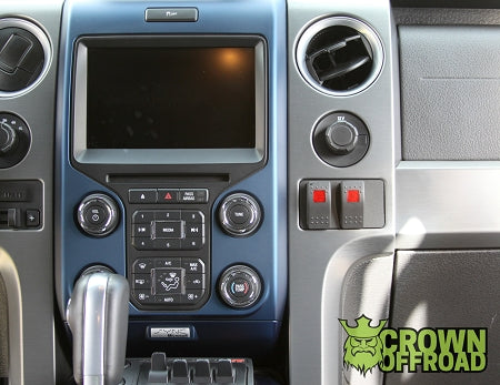 F150/Raptor Dual In Dash Switch
