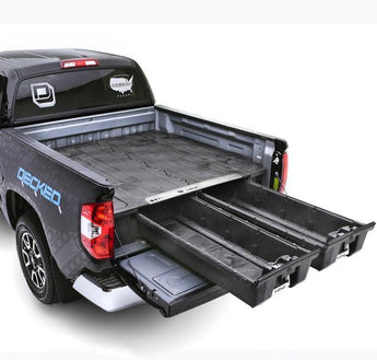 "Decked Dodge Ram 2500 and 3500 2010-current 6' 4"" Bed Length"