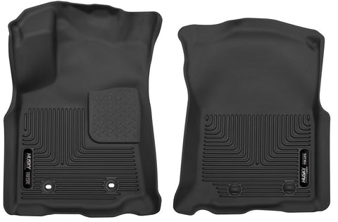 Husky X-Act Contour Floor Liner Front and Rear - 2018-2020 Tacoma